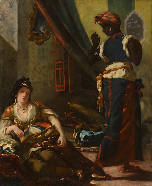 Chef D Oeuvre Disparu Eugene Delacroix Retrouve In The Mood